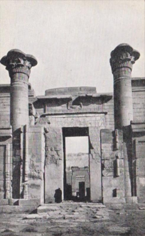 Egypt Thebes Entrance To The Temple