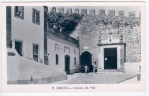 RP, Entrada Da Vila, Obidos (Leiria), Portugal, 1920-1940s