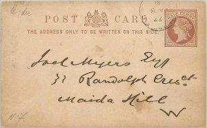 Entier Postal Stationery 1 / 2p 1881
