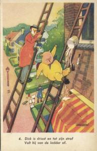 Clown Goose Pig Boar, House Painter (1940s)
