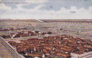 Illinois Chicago The Union Stock Yards 1910