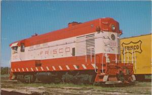 TULSA Oklahoma - FRISCO Train Locomotive 280 / 1960s era