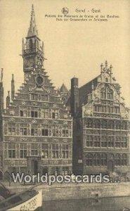 Maisons des Mesureurs de Grains Gand, Gent, Belgium Unused