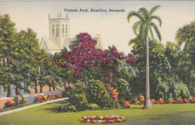 Bermuda Hamilton Victoria Park