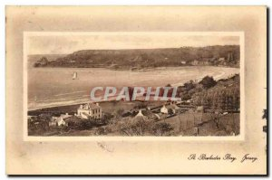 Jersey Old Postcard St Bielades bay