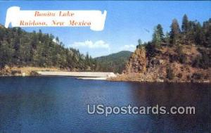 Bonita Lake Ruidoso NM Unused