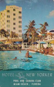 Florida Miami Beach Hotel New Yorker