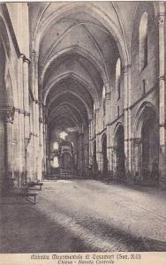 Italy Abbazia Monumentale di Casamari Chiesa Navata Centrale
