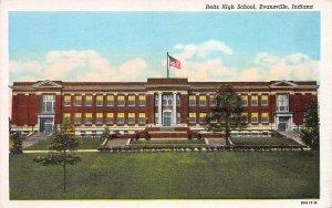 Reitz High School, Evansville, Indiana, Early Postcard, Unused