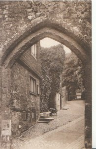 Surrey Postcard - Guildford Castle Gateway - Ref 1017A