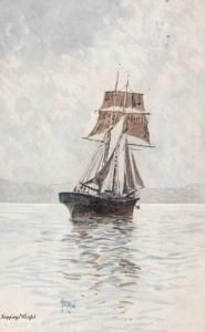 Sailing Vessel ; Seppings Wright #2 , 1904