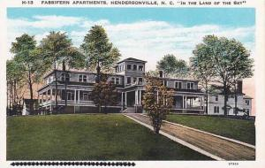 North Carolina Hendersonville Fassifern Apartments In The Land Of The Sky