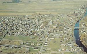 Aerial View, Louiseville,   Quebec,  Canada,  PU-1969