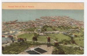 Panorama Panama City Panama 1910c postcard