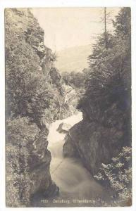 RP  Zenoburg , Gilfenklamm, Austria, PU-1906