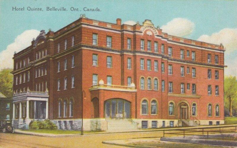 BELLEVILLE , Ontario , Canada , 1910s ; Hotel Quinte