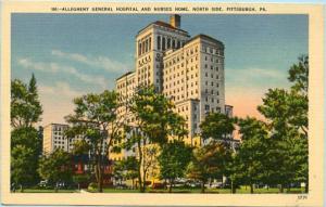 PA - Pittsburgh, Allegheny General Hospital & Nurses' Home