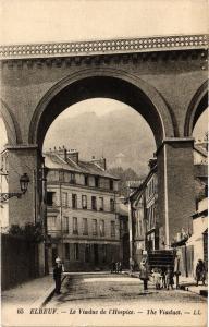 CPA ELBEUF-Le Viaduc de l'Hospice (347526)
