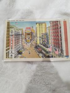 Antique/Vintage Postcard from New York, Times Square