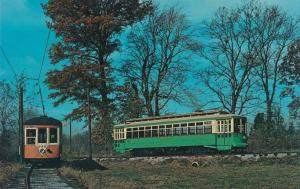 Johnstown PA Car 352 and Wash DC Car 766 Trolley Museum near Layhill MD Maryland