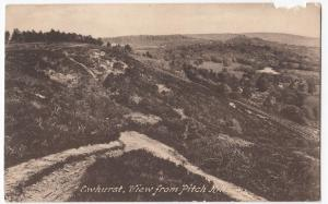 Surrey; Ewhurst, View From Pitch Hill, PPC, Unposted, By Frith, c 1920's, Faults