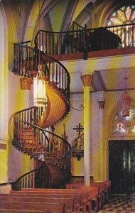 New Mexico Santa Fe Miraculous Stairway Our Lady Of Light Chapel