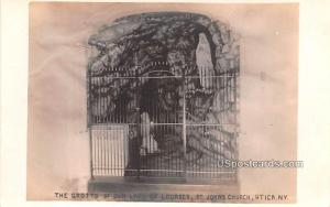 The Grotto of Our Lady of Lourdes Utica NY Unused