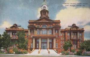 FORT WORTH , Texas , 1930-40s ; Court House