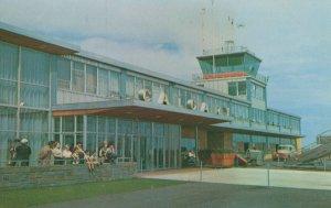 Calgary Airport Canada Taylorchrome Rare 1960s Postcard