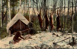Maine Deer Hunting In Maine Is Good 1912