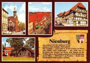 Germany Postcard, Nienburg, Multi View Z88