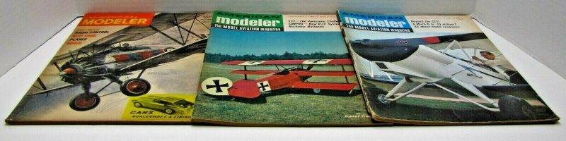 (3) American Modeler Vintage Magazines Mar-Apr 1965, Jan. 1967, Sept. 1967
