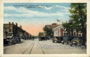 Washington Avenue Greenville MS Unused