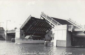 RP: CHEBOYGAN , Michigan , 1930-40s ; Draw-Bridge