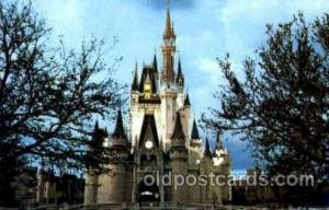 Cinderella Castle Disney Postcard Post Card  Cinderella Castle