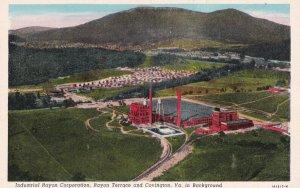 RAYON TERRACE & COVINGTON, Virginia, 1910-1930s; Industrial Rayon Corporation