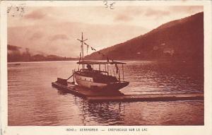 France Gerardmer Crepuscule Sur Le Lac
