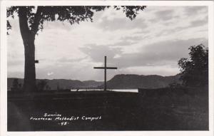 Minnesota Lake City Sunrise Frontenac Methodist Camps 1959 Real Photo