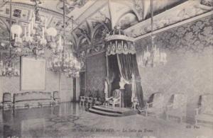 Monaco Prince's Palace La Salle du Trone