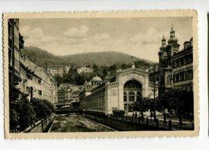 3108688 CZECHIA spa city KARLOVY VARY Vridelni kolonada Vintage