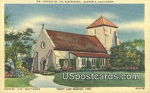 Church of the Recessional - Glendale, CA