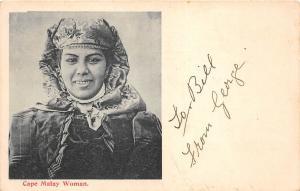 B86564 south africa cape malay types ethnics woman