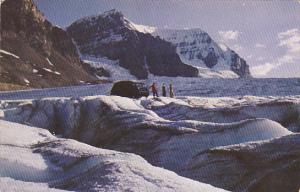 Canada Snowmobile on Athabasca Glacier Jasper National Park Alberta