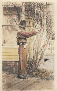 RP: Boy soldier holding a gun , 00-10s