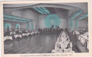 Ohio Cincinnati Netherland Plaza Hotel Colorful Pavilion Caprice