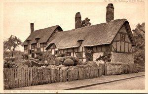 England Stratford upon Avon Anne Hathaway's Cottage Shottery