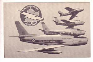 Royal Canadian Air Force, Golden Hawks, Airplanes