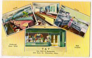 T & T Sea Grill & Restaurant, Worcester Mass