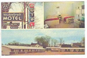 Meadowbrook Motel , St Stephen , New Brunswick , Canada , 50-70s