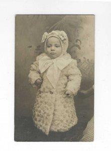 Vtg 1904-1918 AZO RPPC Baby Richard Photo Postcard